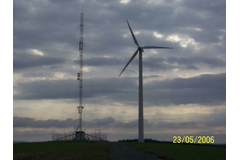 Wind power plant maintenance